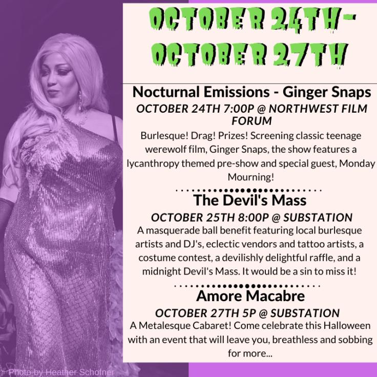 October 24 - October 27th